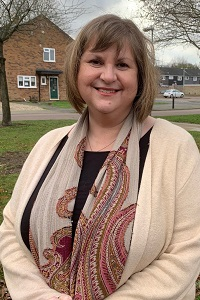 Bury Town LifeLink Coordinator Julie Williams