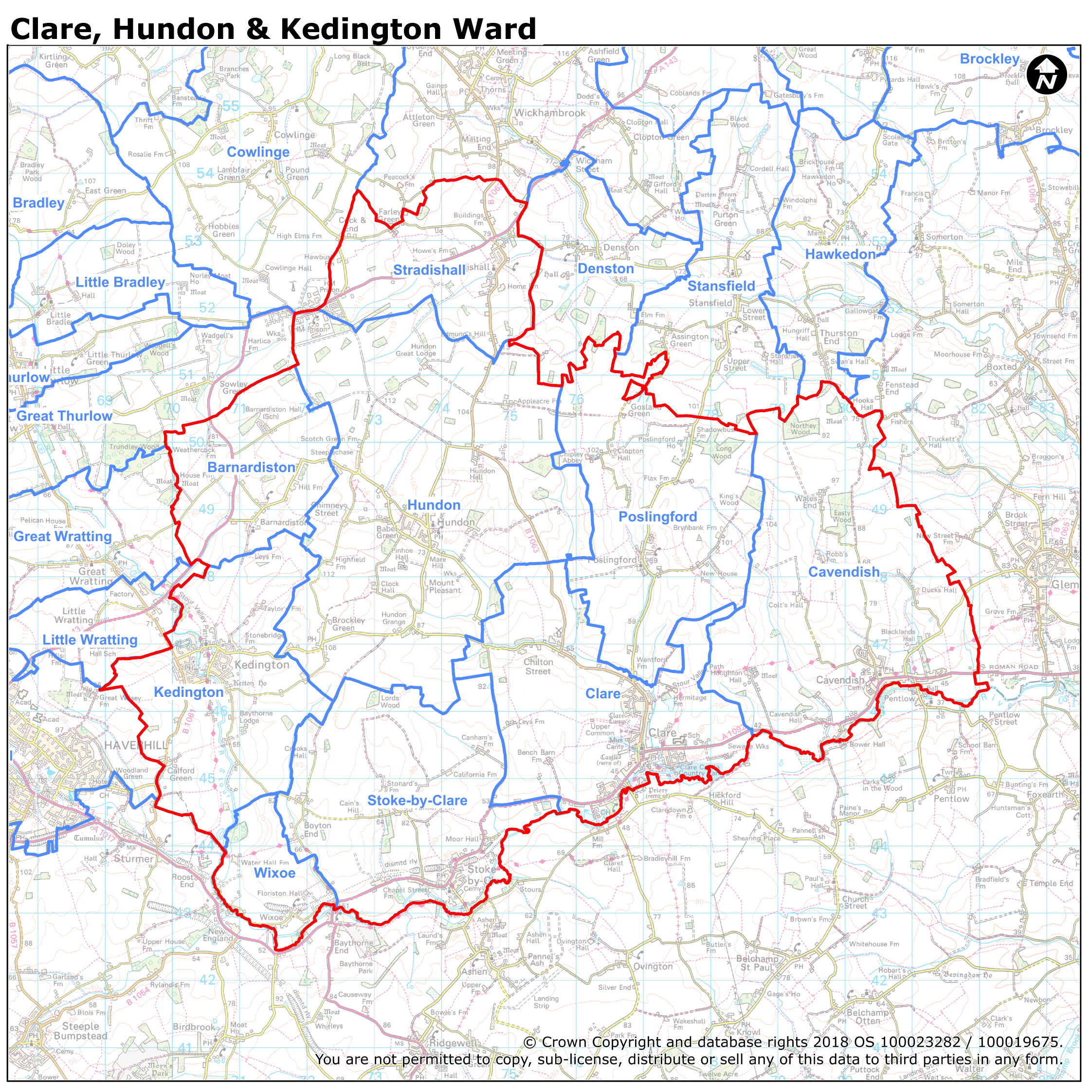 Picture of: Boundaries And Ward Maps