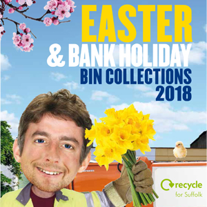 Easter bin collection leaflet 2018