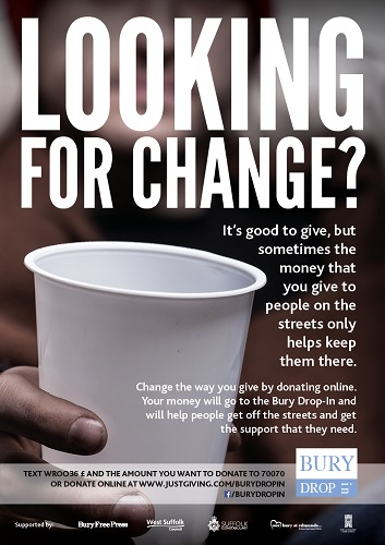 West Suffolk councils back the Looking For Change campaign