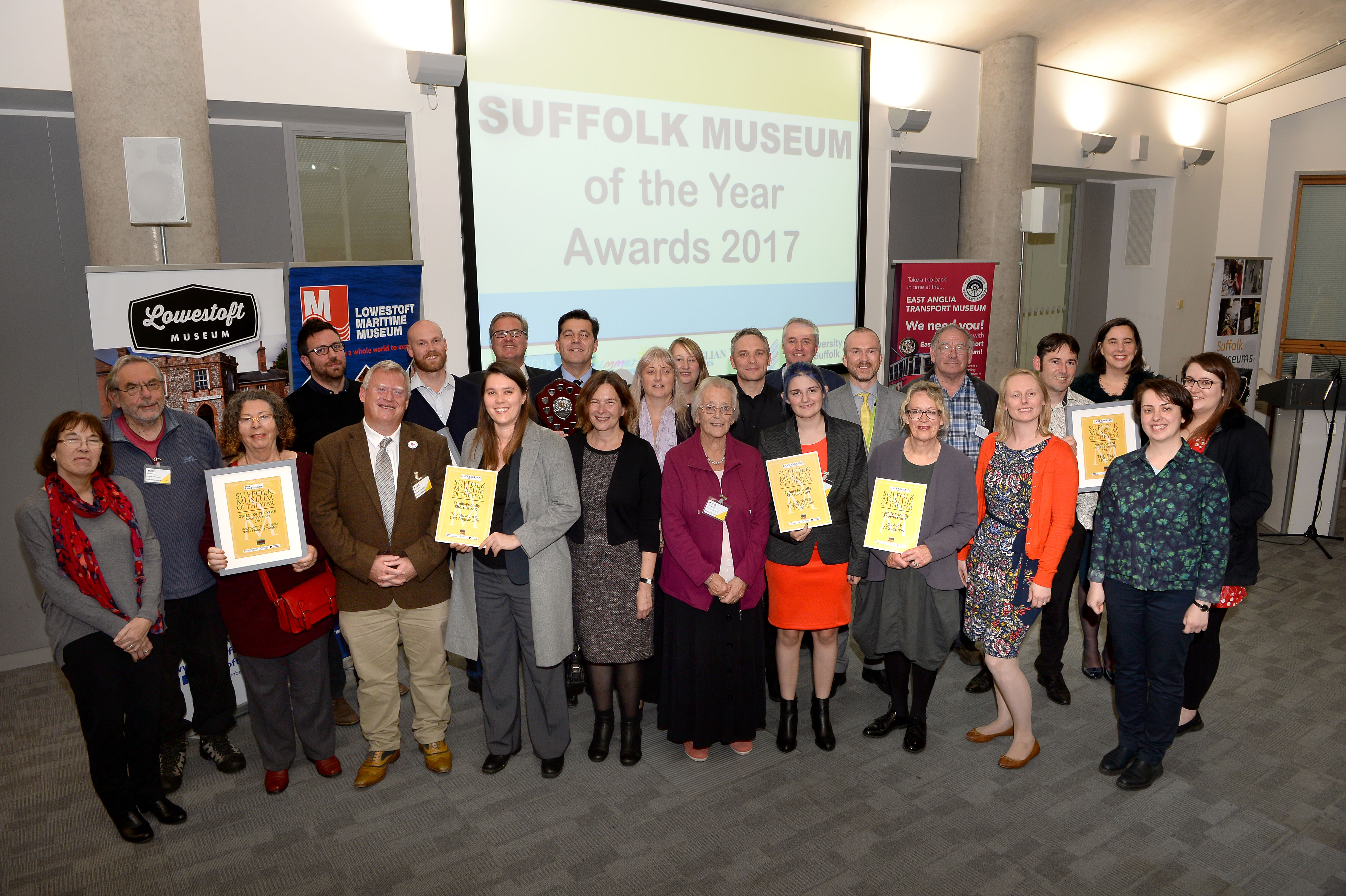 West Suffolk Museum's celebrate Awards wins