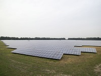 Solar farm at Lakenheath