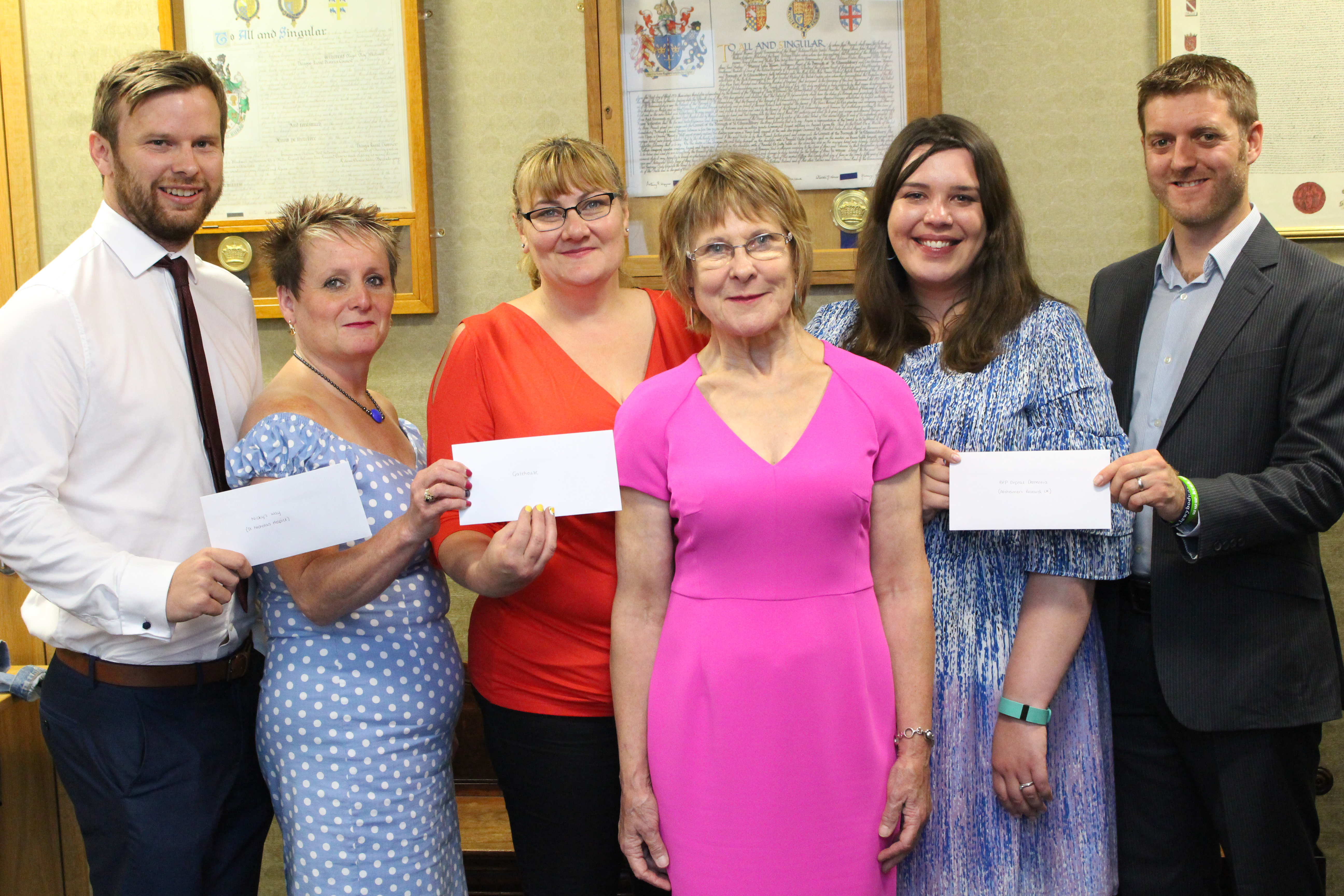 Over £12,000 awarded to Mayor's charities
