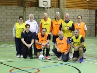 Walking Football is free until the end of February