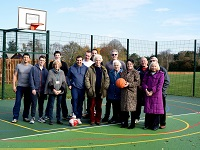 Community sports area opens in village