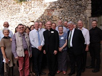 Members of The Abbey of St Edmund Heritage Partnership