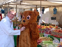 More than the bear necessities at Bury market