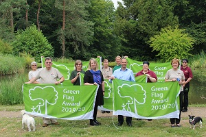 New Green Flag for West Suffolk