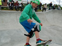 Bury skate park marks first anniversary with the start of a new venture