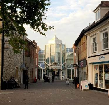 Planning appeal into Cornhill Walk, Bury St Edmunds