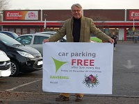 'Free from 3' car parking for Haverhill shoppers in run-up to Christmas