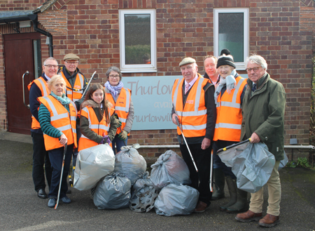 West Suffolk joins the Great British Spring Clean