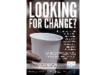 The Looking For Change campaign poster