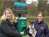 Veterinary Surgery and Council combat dog mess at Nowton Park