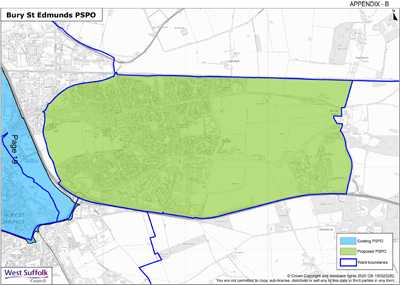 Consultation on West Suffolk public space protection orders