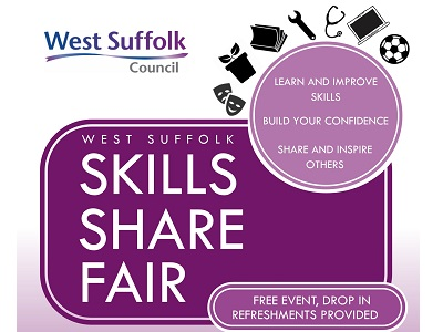 First West Suffolk Skills Share Fair to take place next week