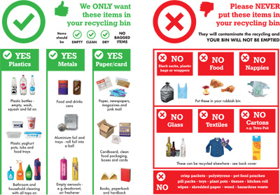 New recycling campaign aims to get Suffolk's recycling right