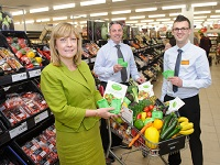 Launch of free Fresh Pods at Sainsbury's in Bury St Edmunds