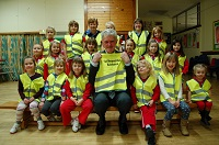 Hi-vis Rainbows seen thanks to councillor grant