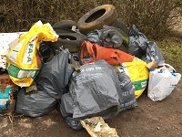 Litter pickers remove 2.3 tonnes of rubbish