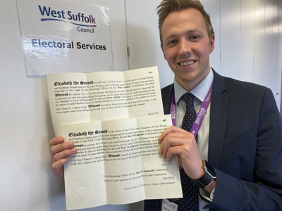 West Suffolk gets ready to go to the polls