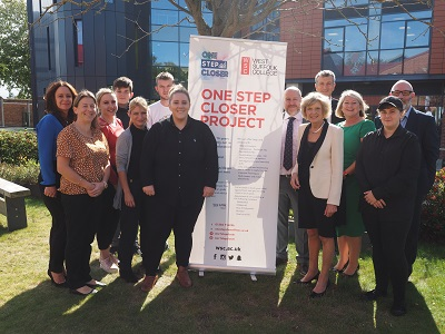 College One Step Closer initiative in full swing