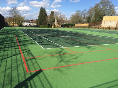 Abbey tennis courts serves up an ace