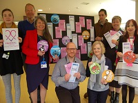 LifeLink coordinator Charlotte Murphy, Robert Everitt, Lois Wreathall from WSCCG, LifeLink coordinators Robert Jones and Elaine Hewes, Robin Millar, Suzanne Stevenson, Social Prescribing Project Manager and Theresa McNeil from St Nicholas Hospice Care