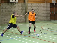 Cllr Terry Clements, Mayor of St Edmundsbury takes part in walking football to promote the activity which is free until the end of February